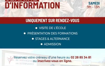 Grande semaine d'information à l'Ema Vendée
